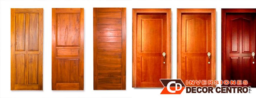 Puertas de madera para interiores top venta al por mayor for Puertas de madera interiores